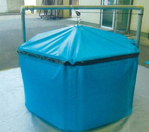 折畳み式簡易水槽 アクアマイスター ふた付タイプ