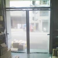 カーテンは倉庫内の出入り口としても最適です。