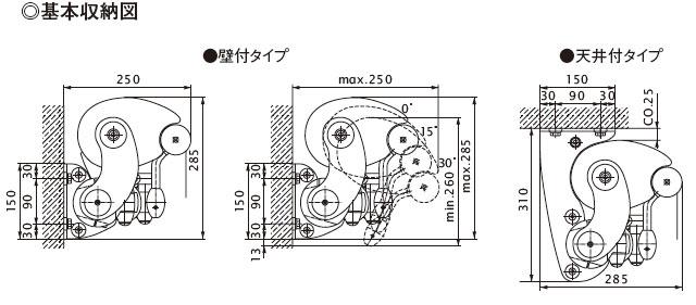マルキルックスES-1 基本収納図