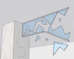 不燃シート製防煙たれ壁|ケムストップ5