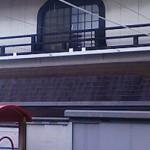 保育園の屋上テラス紫外線避けスクリーン工事3