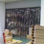 工場入口のスリットカーテン|アキレスミエール使用