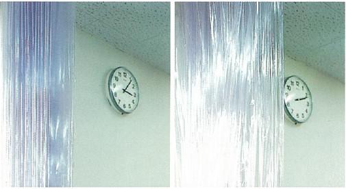 アキレスオレール 従来ビニールカーテンとの比較