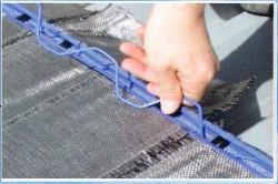 折半屋根断熱工法 ルーフシェード 専用スプリング