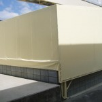 工場内の可動式倉庫テント3