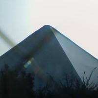 ピラミッド型天窓テント新設 施工後