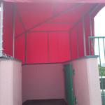 保育園の階段テントのお仕事5