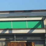 外壁の拡張テント