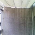 カーテン式開閉テント1