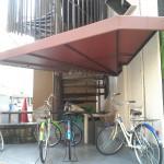 マンション駐輪所テント