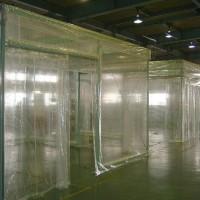 工場内のエアコンブース1