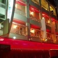 ラブホテルの装飾テント・のれん3
